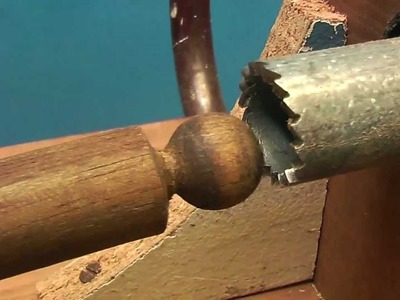 Wooden Ball and Socket