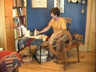 Working With Wool - Spinning Clip 3