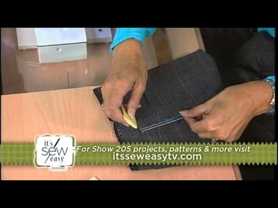 205-1 Couture expert Angela Wolf has a lesson on hemming on It's Sew Easy