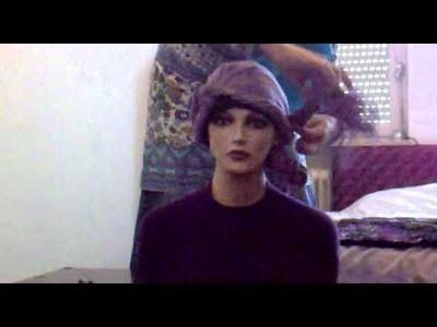 #3 Moroccan style hijab tutorial headscarf design
