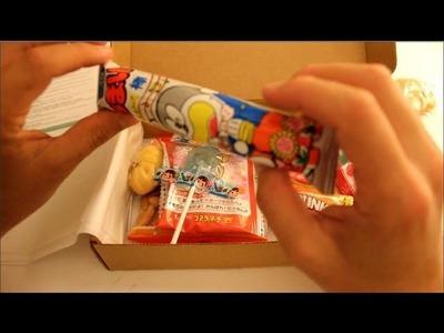 ASMR Unboxing: SkoshBox (Japanese Candy)