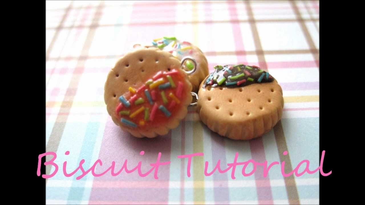 Cookie.Biscuit Polymer Clay Tutorial