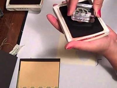 Create a Card Using Scraps