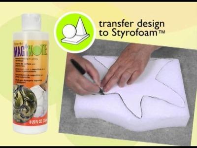 DecoArt® MagiKote™: Surface Coating for Styrofoam