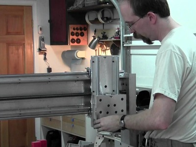 DIY CNC Router Build Day 27 - Z Carriage Assembly