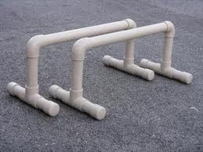 How to build PVC Parallettes (PVC Parallel Bars)