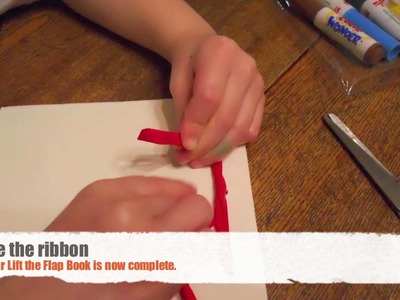 How to Make a Lift the Flap Book