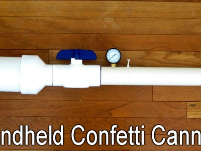 How to Make a Simple Confetti Cannon