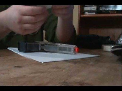 How to make an airsoft gun Holster ( Easy )