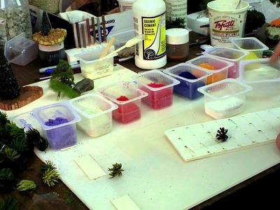 How to Make Miniature Flowering Shrubs
