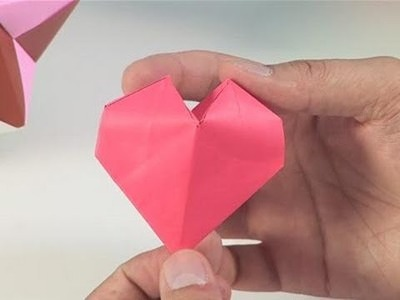 How To Make Pretty Paper Hearts