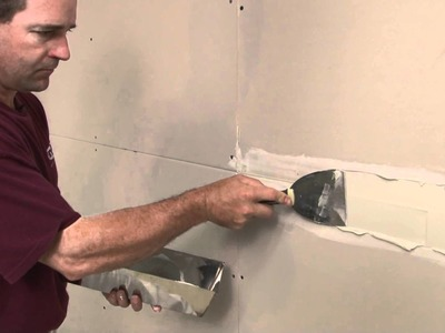 How To Tape a Drywall Joint - Part 1