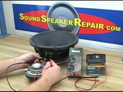 How To Test A Speaker or Tweeter Voice Coil