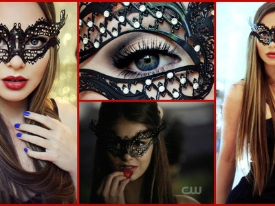 Katherine Pierce Masquerade Ball Makeup Tutorial
