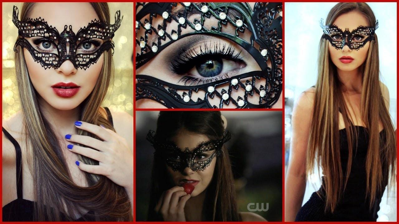 Katherine Pierce Masquerade Ball Makeup Tutorial