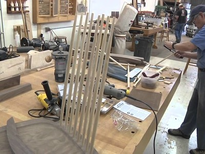 Nakashima Inspired Chair Class
