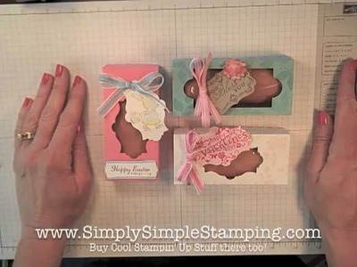 Simply Simple SNACK CAKE BOX by Connie Stewart