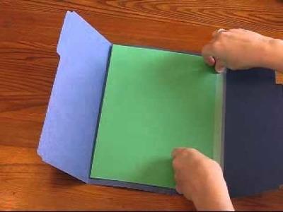 Single Folder Lapbook video tutorial