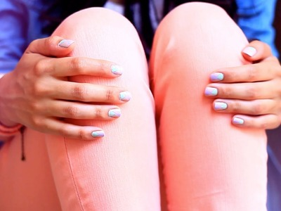 Summer Nail Tutorial & Outfit of the Day