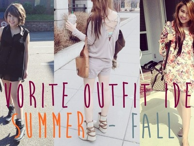 Summer to Fall Outfit Ideas