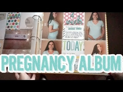 439: Pregnancy Project Life Style Scrapbook Album Share - Part 1