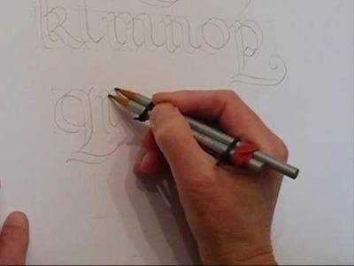 Calligradoodles_ 0002 A Roundhand Alphabet