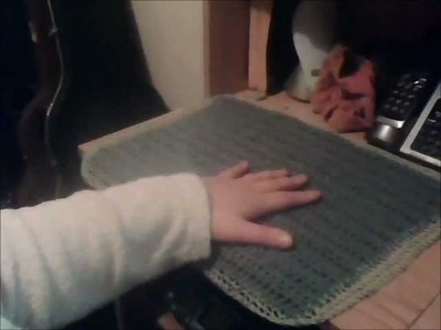 Crochet Kitchen Table Placemat 1