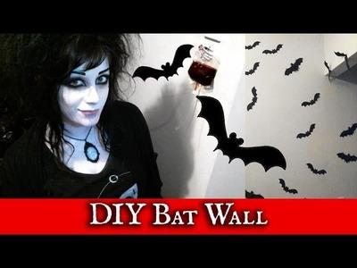 DIY Bat Wall!   Black Friday