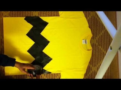 DIY Charlie Brown Last-Minute Costume-Less Than Five Dollars!