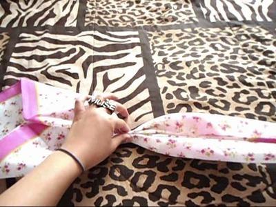 DIY: Giant Handkerchief Bow