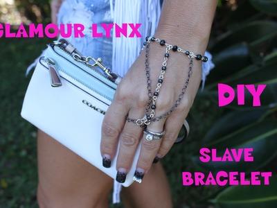 DIY How to Make Easy Hand.Wrist Ring Chain Bracelet Glamour Lynx Youtube VideoTutorial 2014