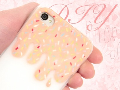 DIY Phone Cover - Super Easy and cute!