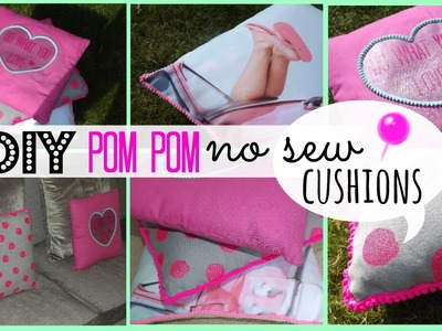 DIY Pom Pom Cushions | Room Decor Inspiration!