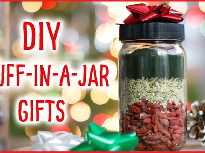 DIY Stuff-In-A-Jar Gifts