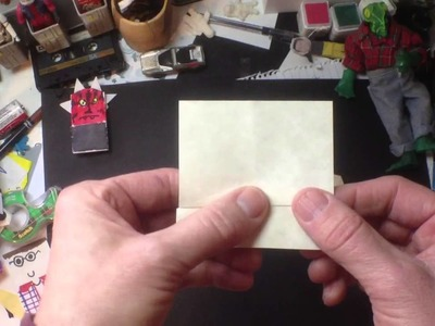 How to Fold Origami Cantina Band