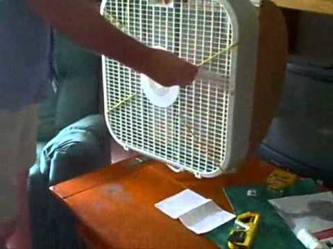 How to make a  $1 Homemade Mosquito Bag Fan Trap kills bugs dead