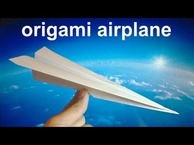 How to Make an Easy Origami Airplane