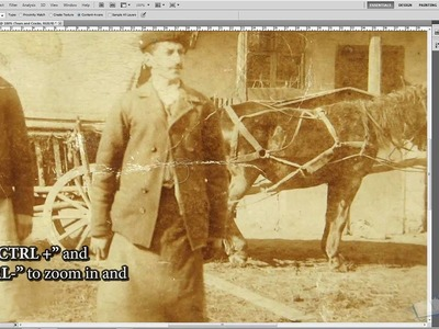 How to Repair and Restore Old Photos in Photoshop Tutorial - TutorialCraft