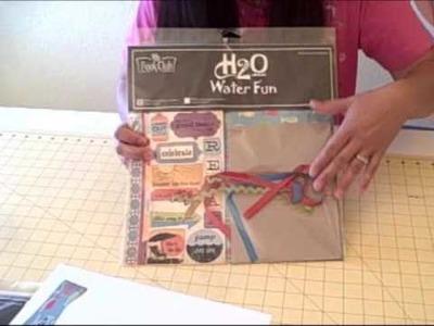 Leah's Scrapbook Room vBlog No. 74