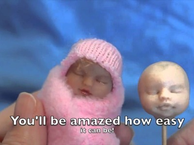 Make a Clay Baby Face (Snuggle Babes)