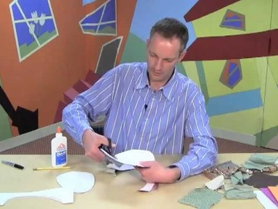 Make a fabric Easter egg! An easy craft for kids by World Book