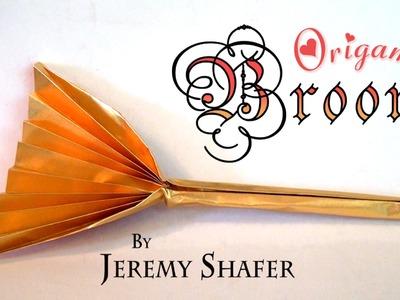 Origami Broom