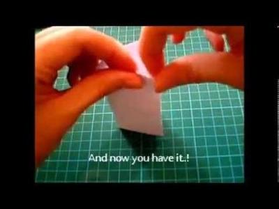 Origami lesson : Triangular prism. !