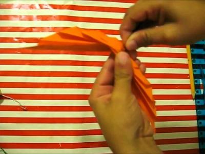 Origami Paper leaf - Frunza din hartie (Tutorial)