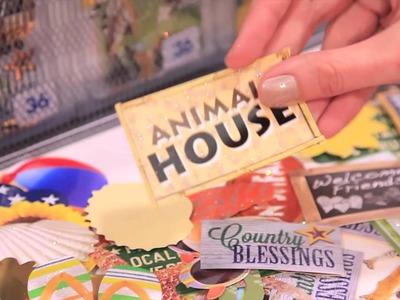 Paper House   Adhesive Die Cut Packs