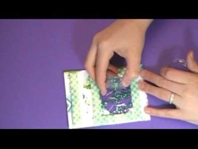 A Snowglobe Shaker Card
