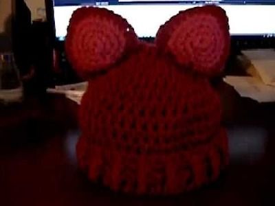 Animal Toddler Hat by Lizz