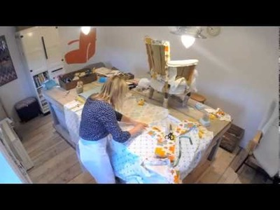 Beginner's Guide to Upholstery: Patchwork Nursery Chair Time Lapse