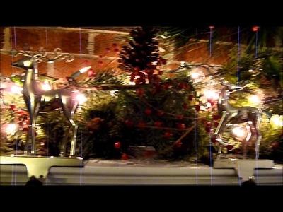 Budget Christmas Mantle: Deck the Halls on a Dime Part 1