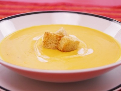 Butternut Squash Soup Recipe: How To Make: Diane Kometa-Dishin' With Di  #108